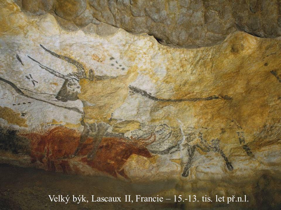 Velký býk, Lascaux II, Francie – 15.-13. tis. let př.n.l.
