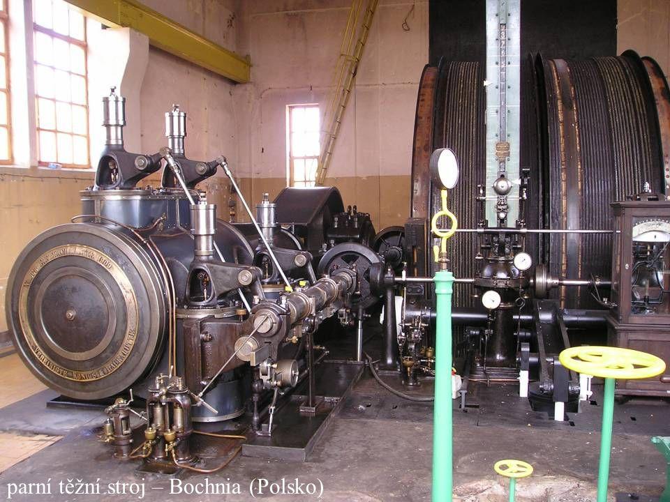 parní těžní stroj – Bochnia (Polsko)