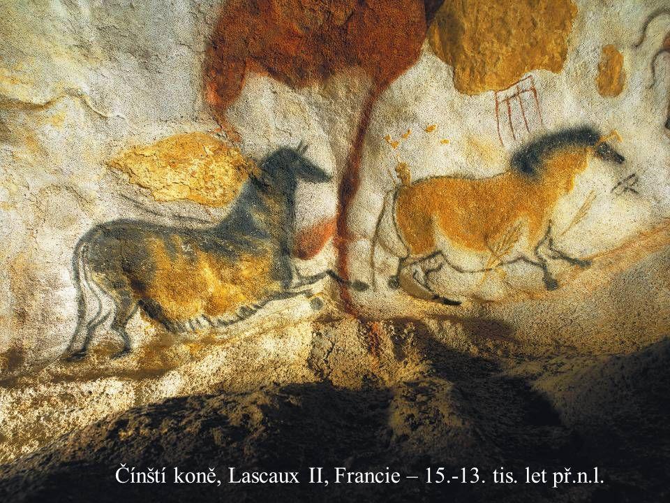 Čínští koně, Lascaux II, Francie – 15.-13. tis. let př.n.l.