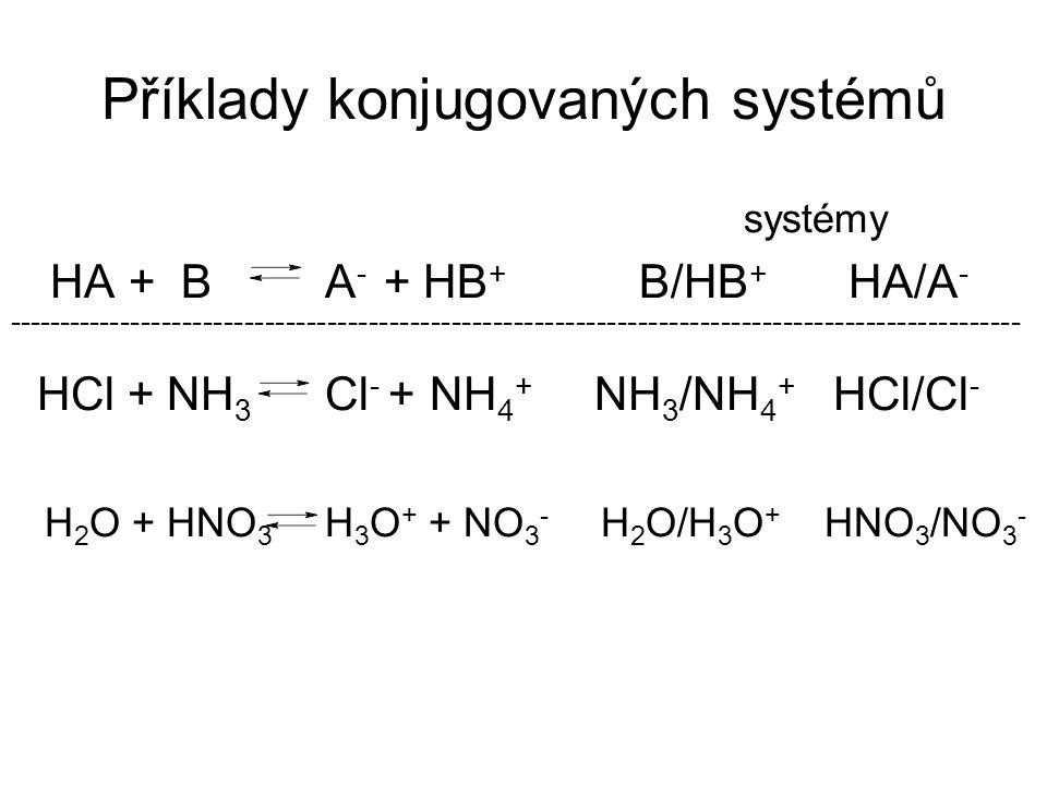Příklady konjugovaných systémů