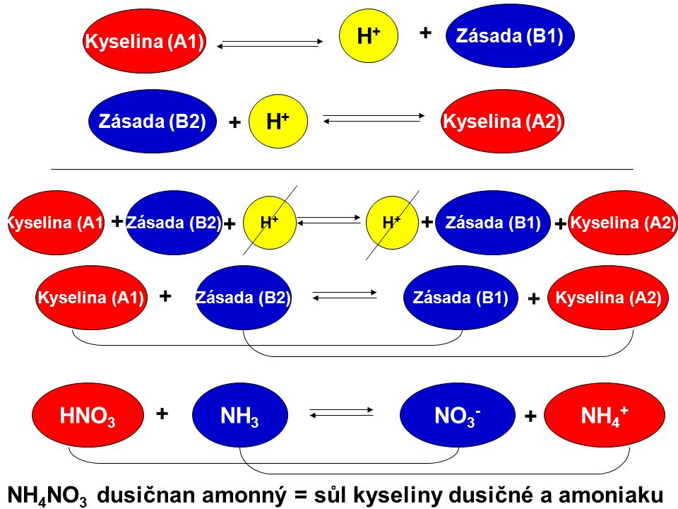 NH4NO3 dusičnan amonný = sůl kyseliny dusičné a amoniaku