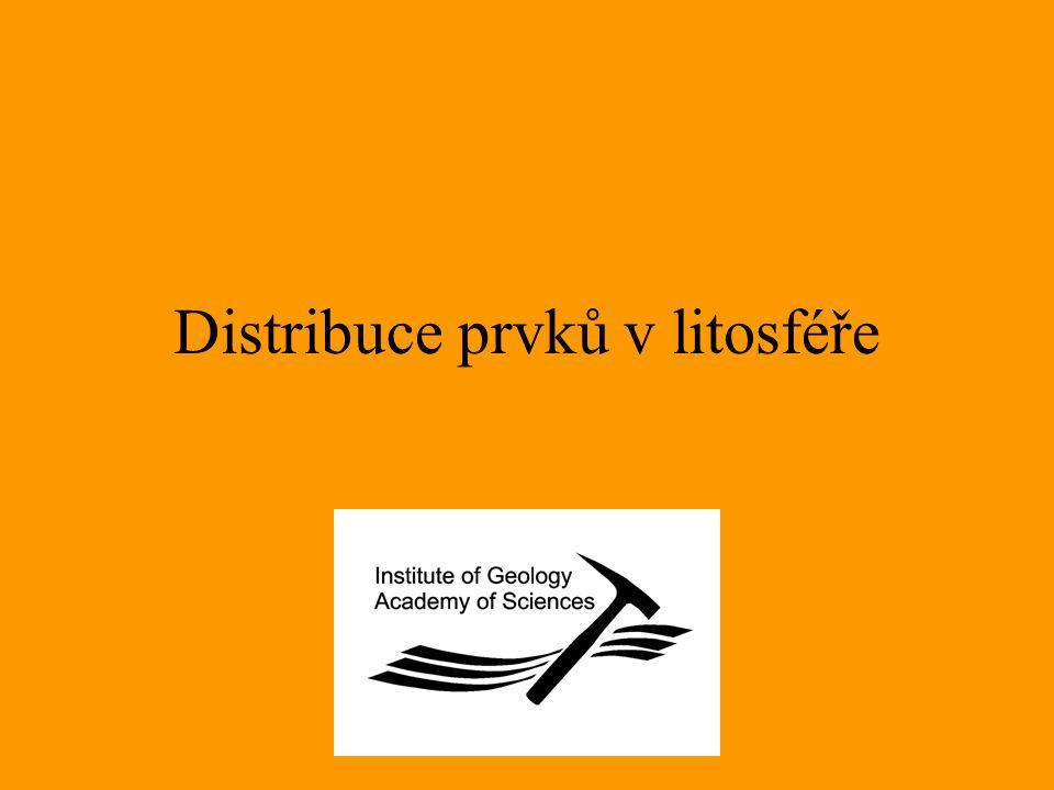 Distribuce prvků v litosféře