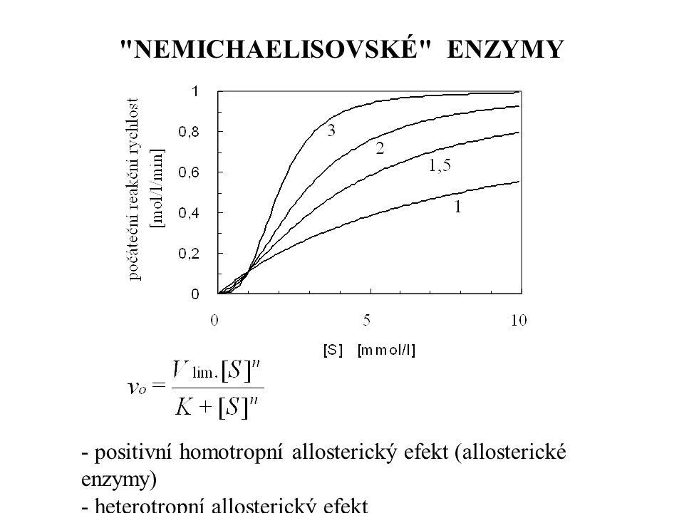 NEMICHAELISOVSKÉ ENZYMY