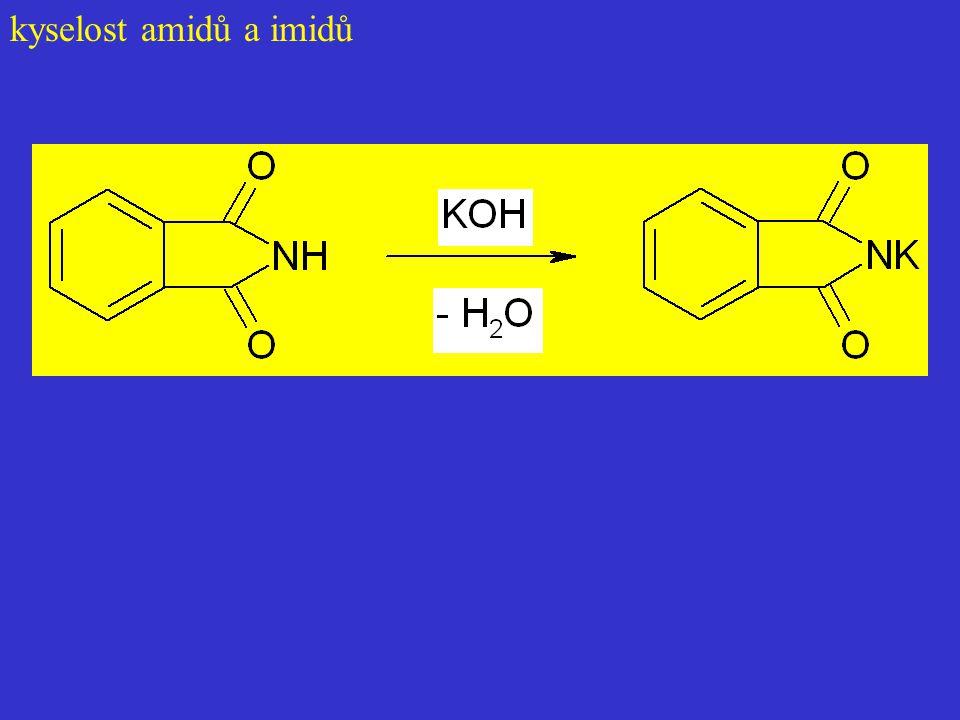 kyselost amidů a imidů