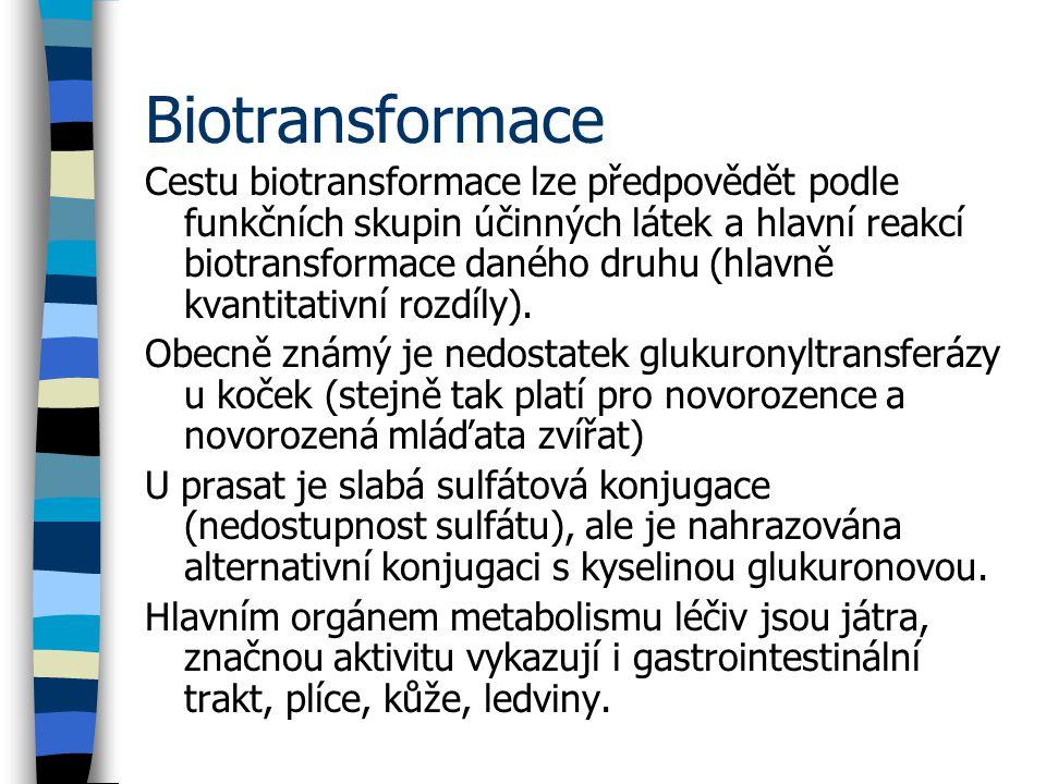 Biotransformace