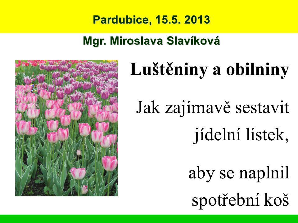 Mgr. Miroslava Slavíková