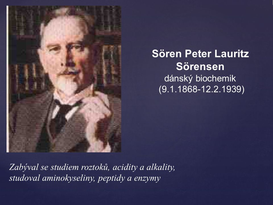 Sören Peter Lauritz Sörensen