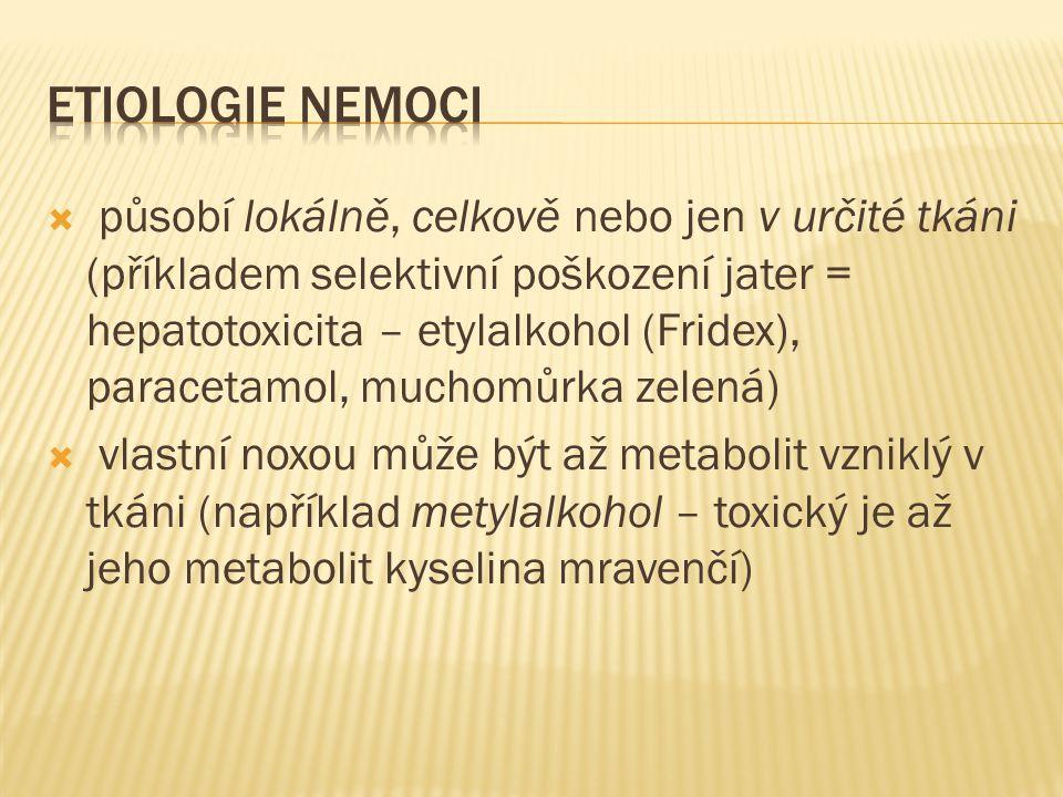 ETIOLOGIE NEMOCI