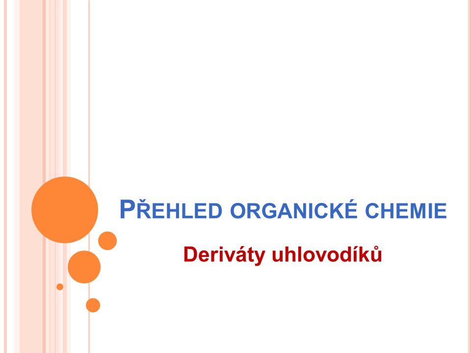 Přehled organické chemie