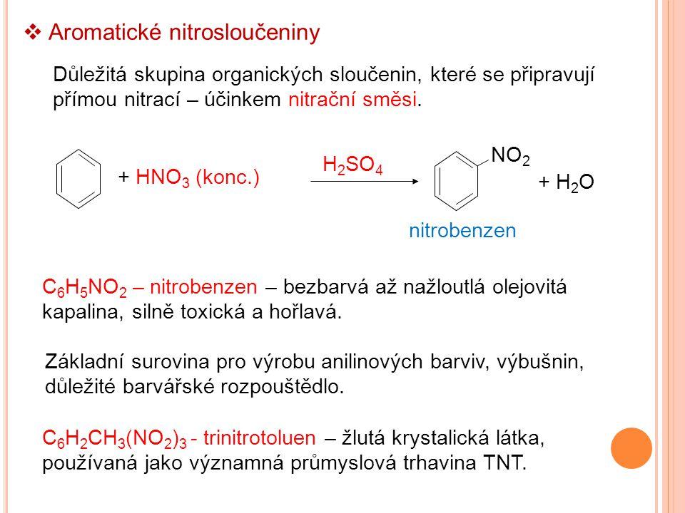 Aromatické nitrosloučeniny
