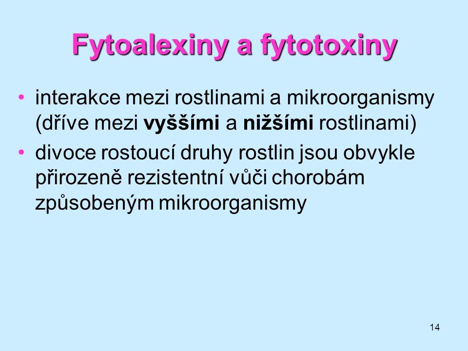Fytoalexiny a fytotoxiny