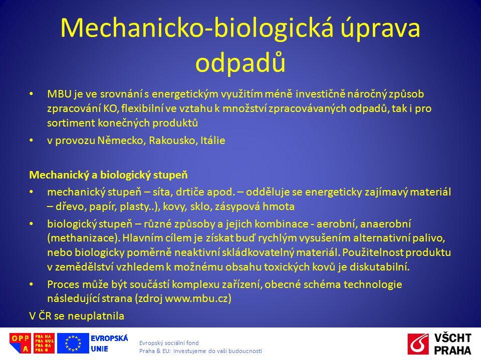 Mechanicko-biologická úprava odpadů