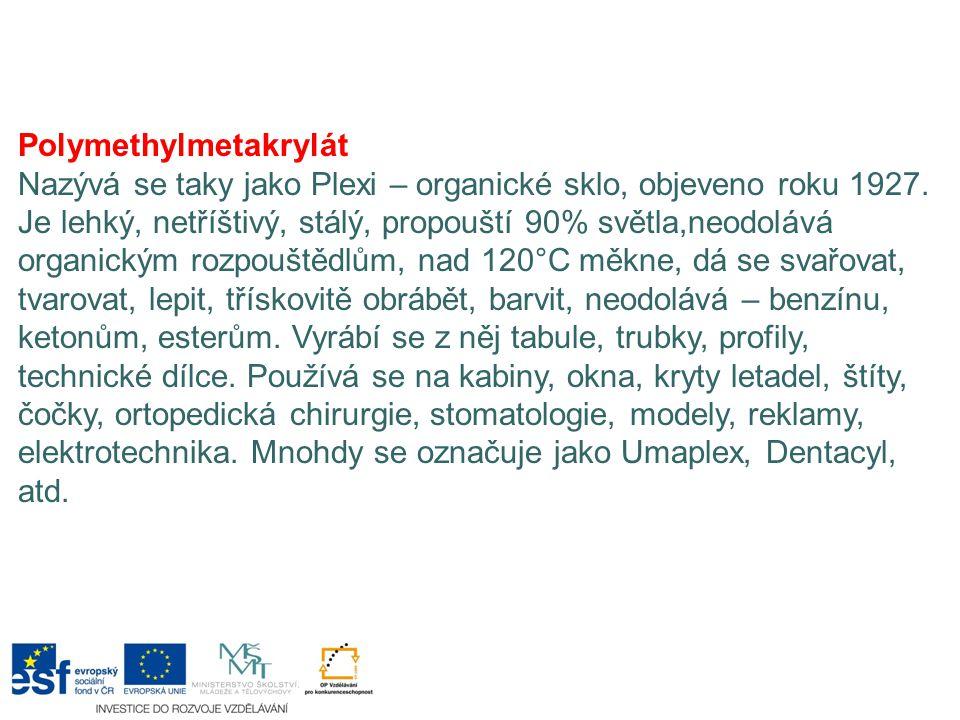Polymethylmetakrylát
