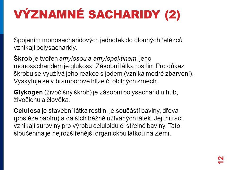 významné sacharidy (2)
