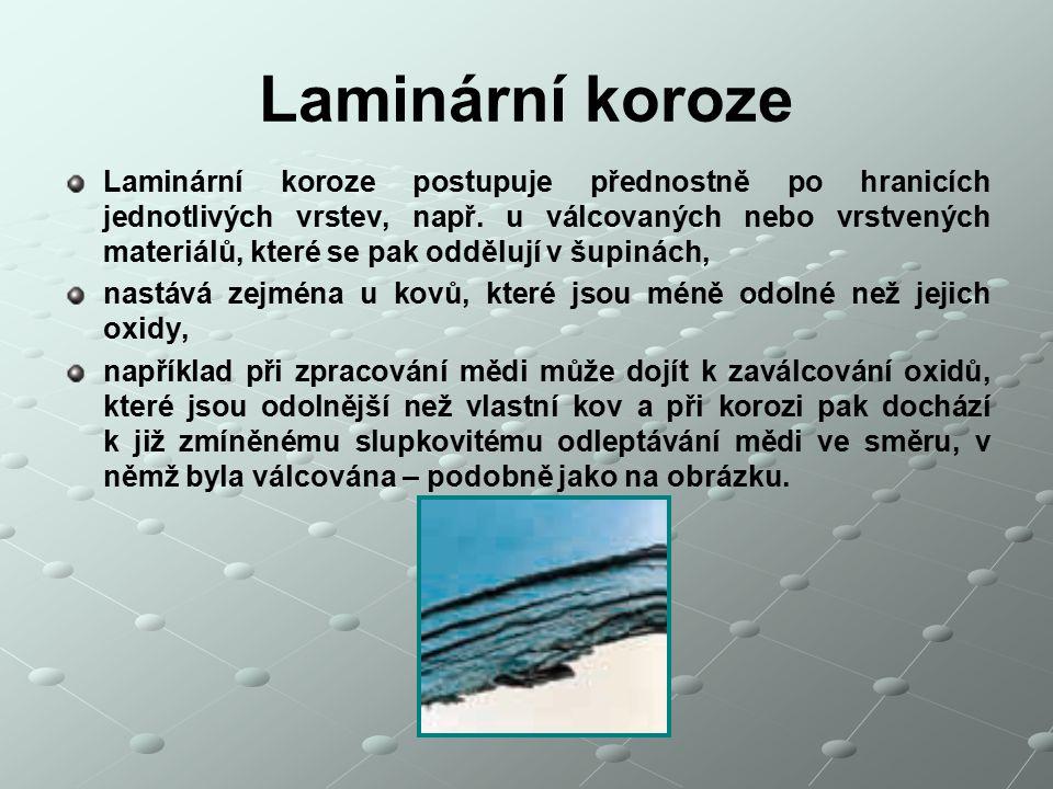 Laminární koroze
