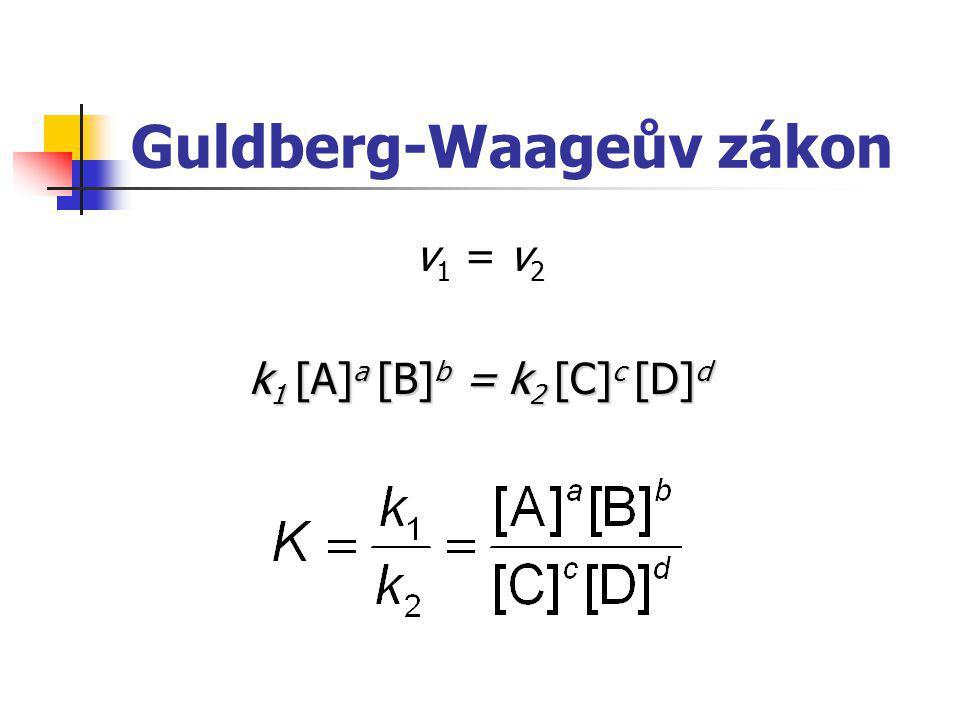 Guldberg-Waageův zákon