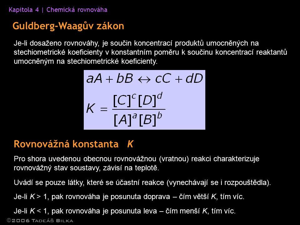 Guldberg-Waagův zákon