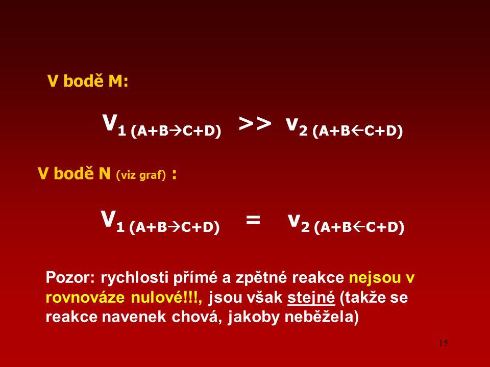 V1 (A+BC+D) >> v2 (A+BC+D) V1 (A+BC+D) = v2 (A+BC+D)