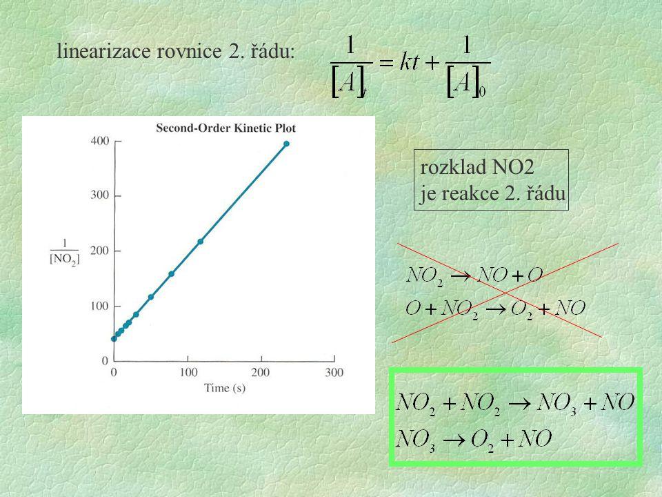 linearizace rovnice 2. řádu: