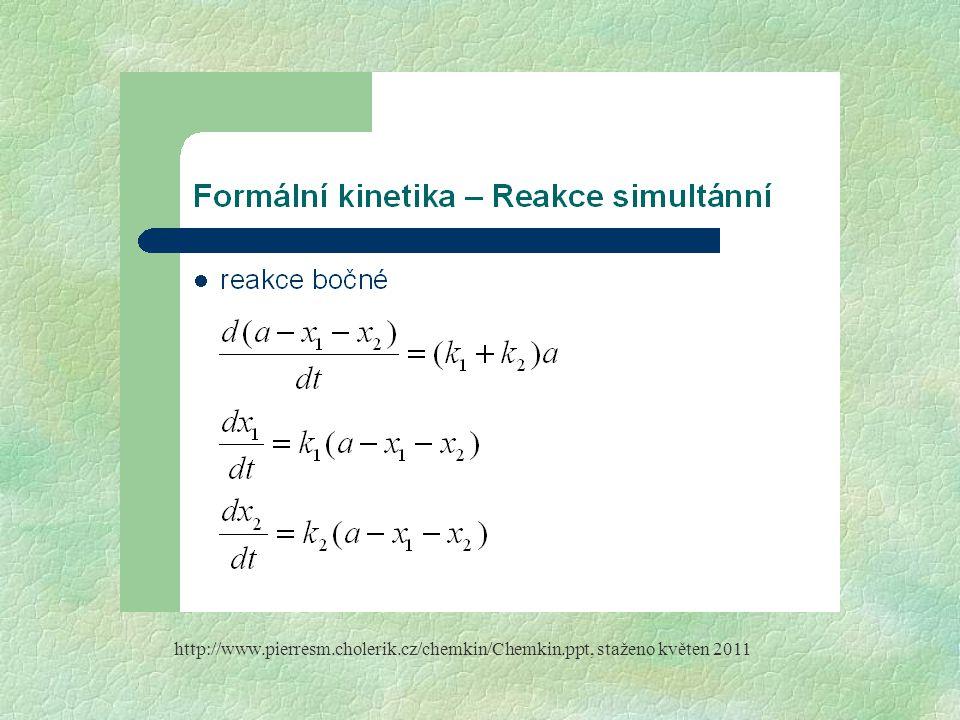 http://www. pierresm. cholerik. cz/chemkin/Chemkin