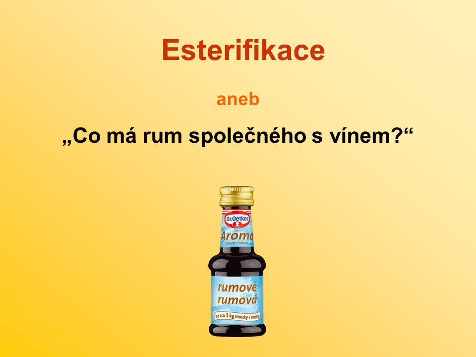 """""""Co má rum společného s vínem"""