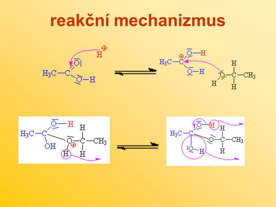 reakční mechanizmus