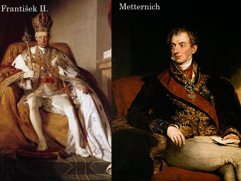 Metternich František II.