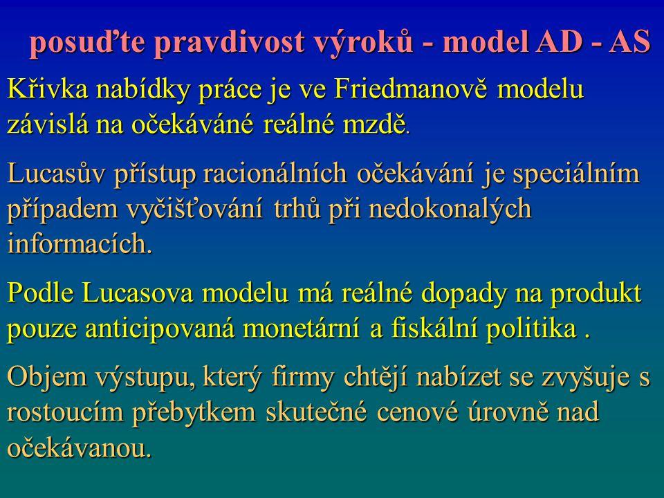 posuďte pravdivost výroků - model AD - AS