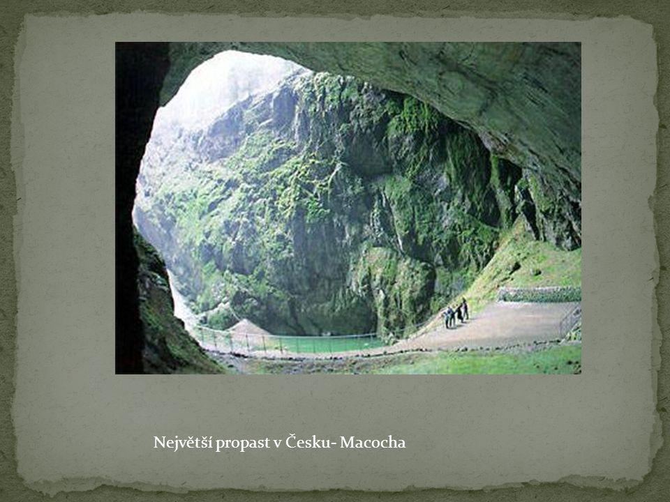 Největší propast v Česku- Macocha