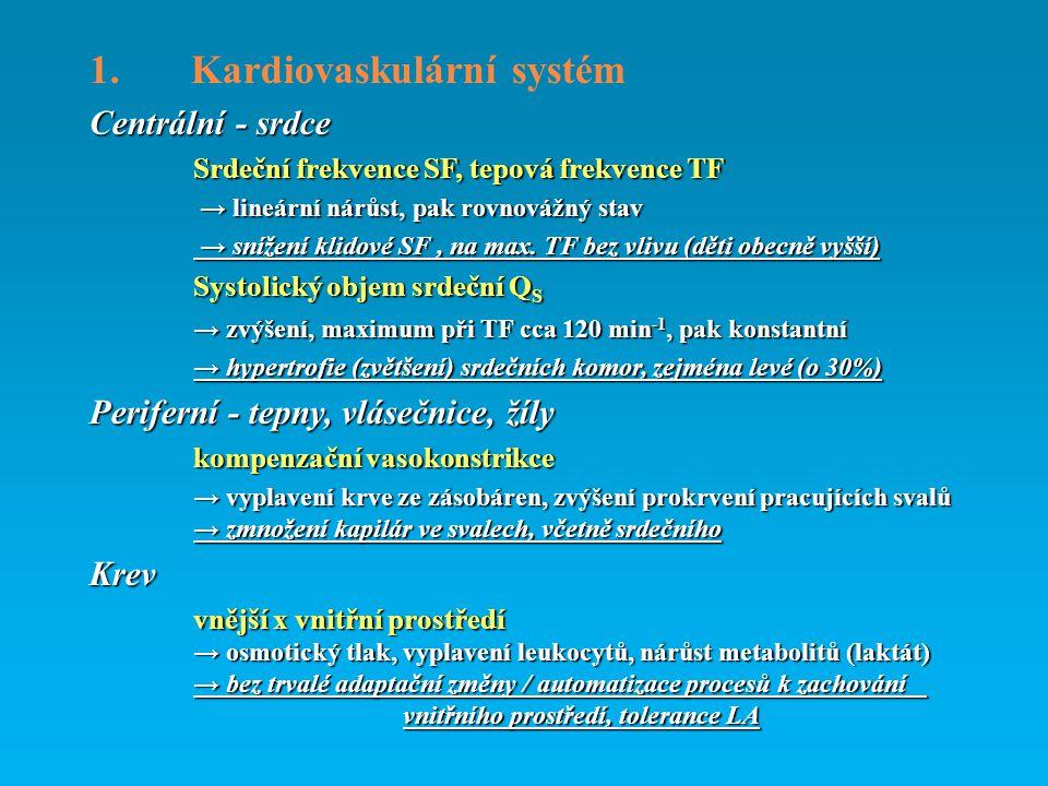 1. Kardiovaskulární systém