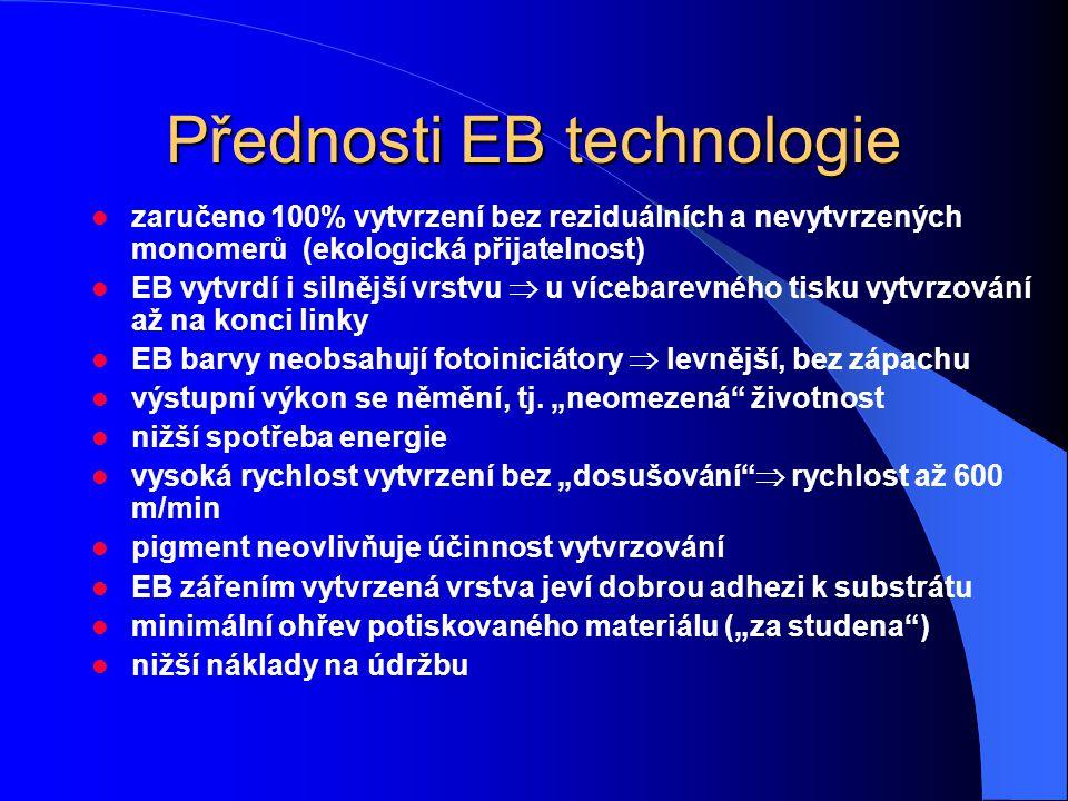 Přednosti EB technologie