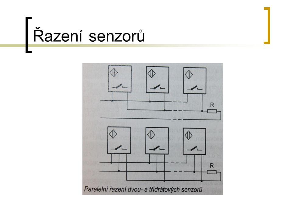 Řazení senzorů