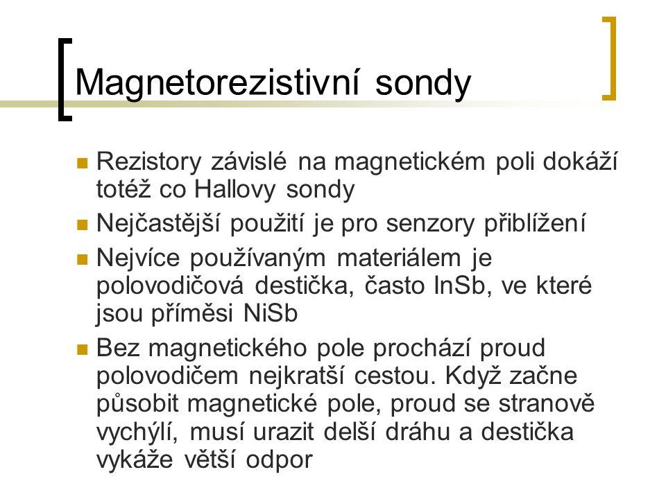 Magnetorezistivní sondy