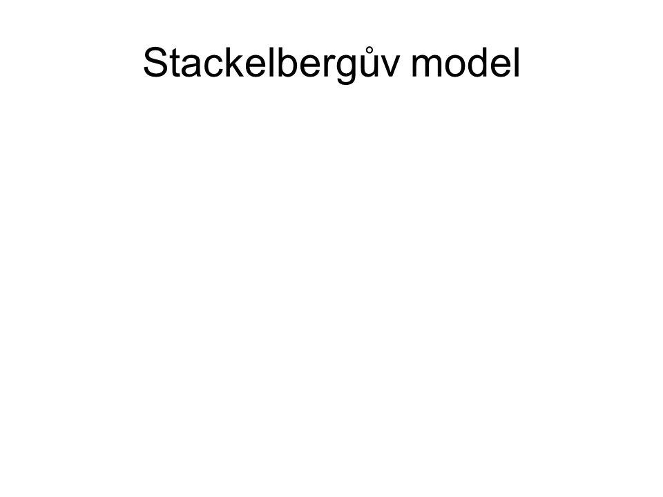 Stackelbergův model