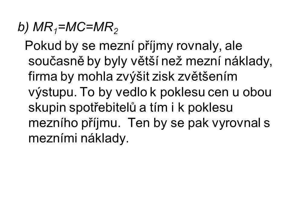 b) MR1=MC=MR2