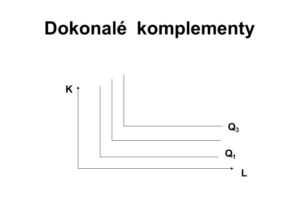 Dokonalé komplementy K Q3 Q1 L