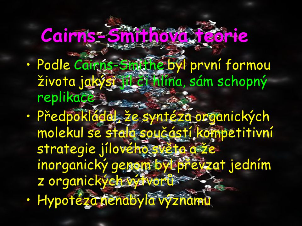 Cairns-Smithova teorie