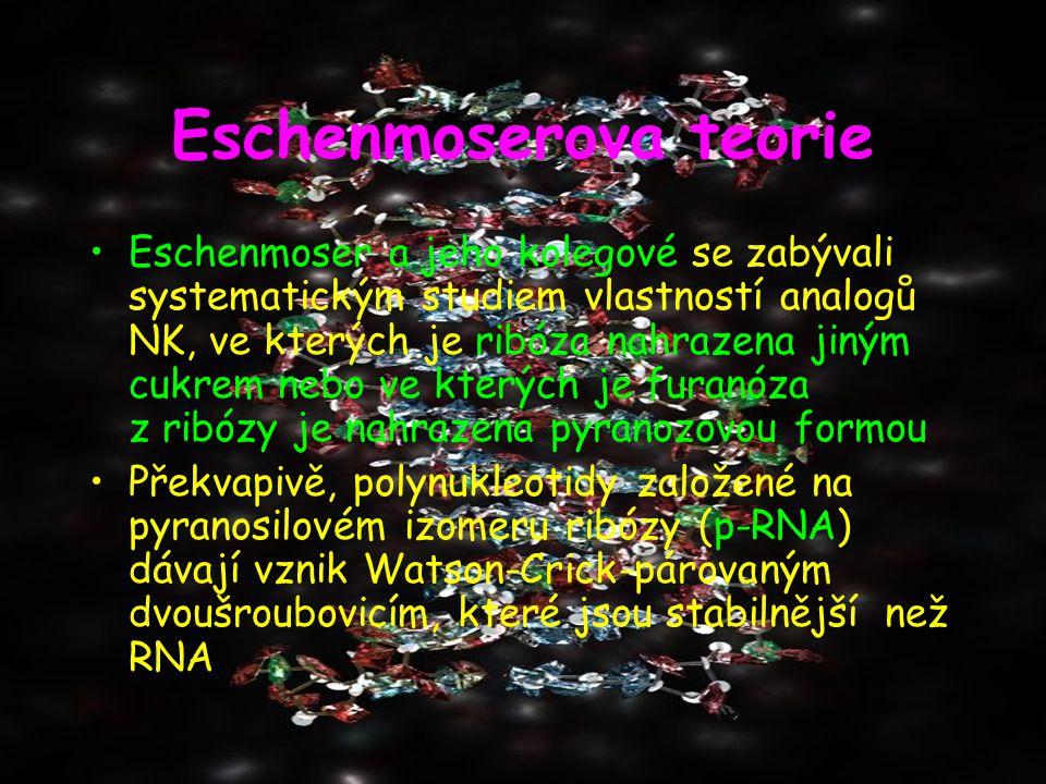 Eschenmoserova teorie
