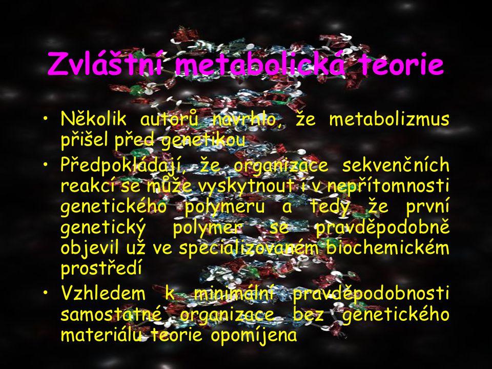 Zvláštní metabolická teorie