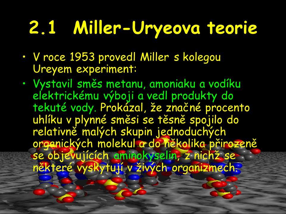 2.1 Miller-Uryeova teorie