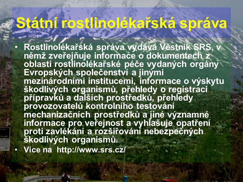 Státní rostlinolékařská správa