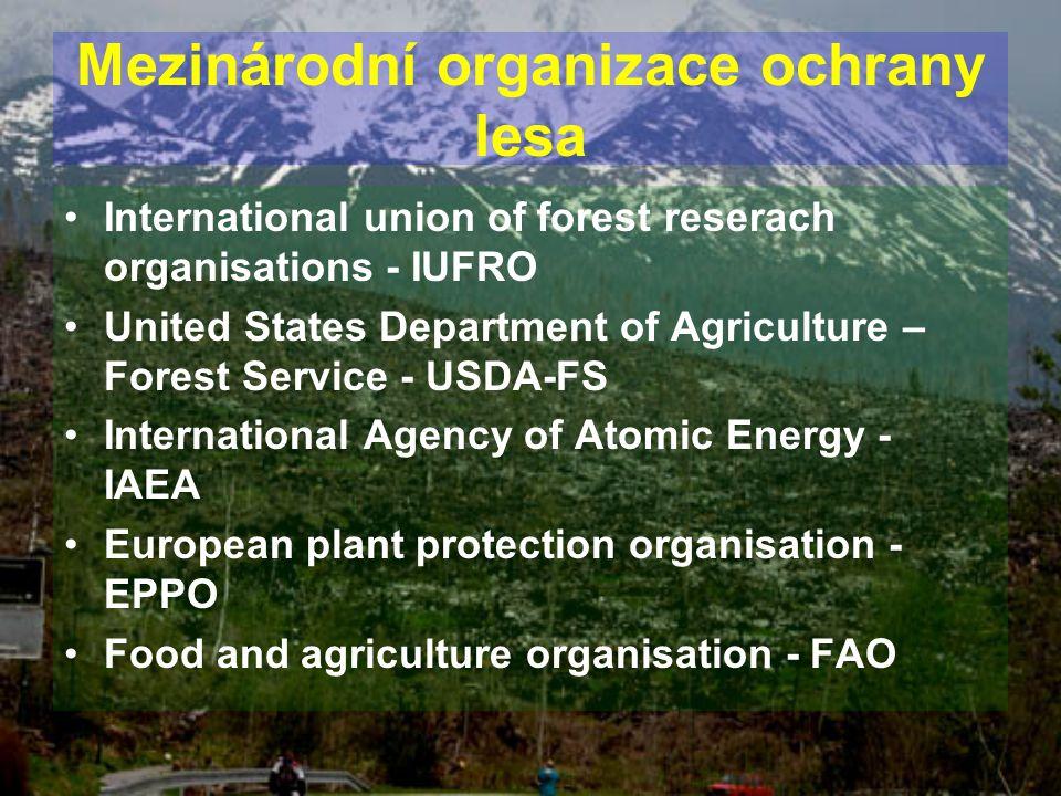Mezinárodní organizace ochrany lesa