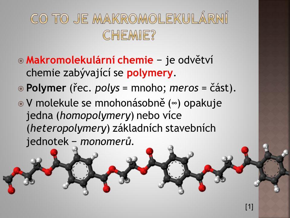 Co to je makromolekulární chemie