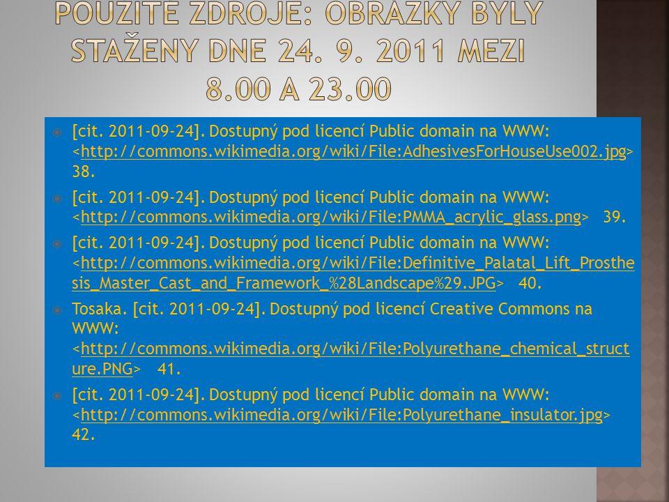 Použité zdroje: Obrázky byly staženy dne 24. 9. 2011 mezi 8.00 a 23.00