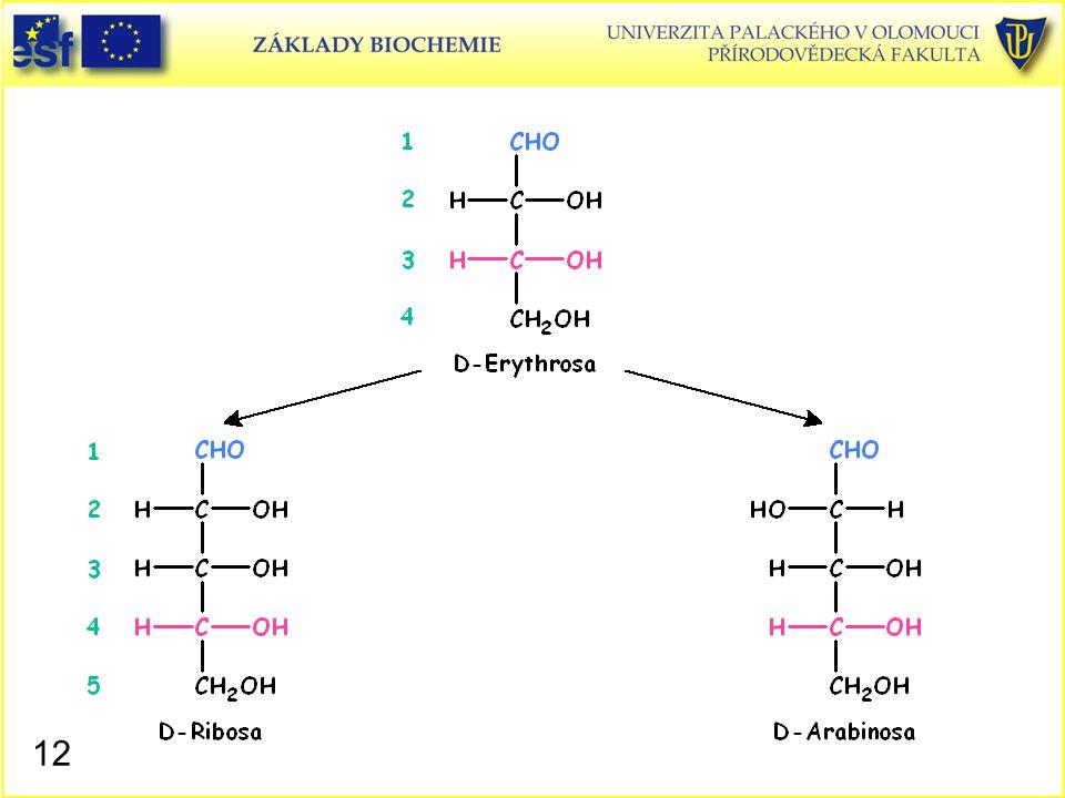 D-Erythrosa D-Ribosa D-Arabinosa