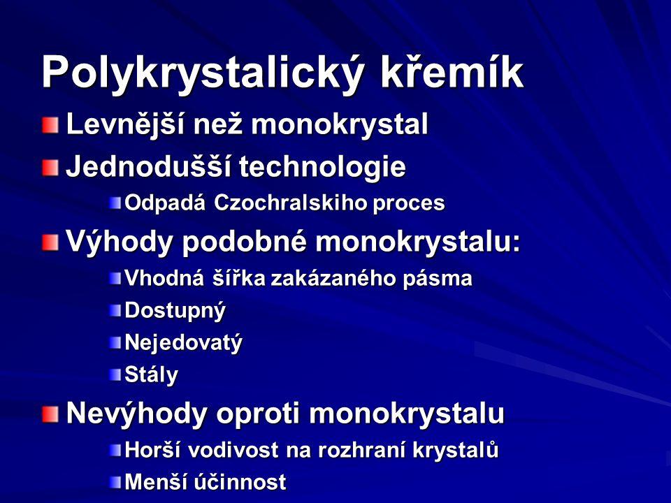 Polykrystalický křemík
