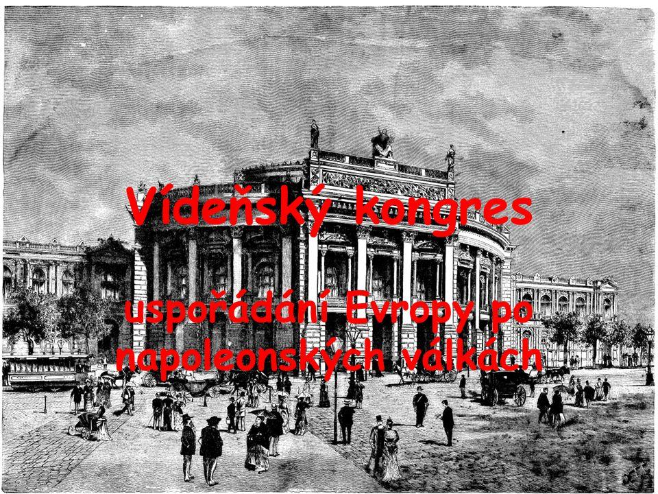 uspořádání Evropy po napoleonských válkách