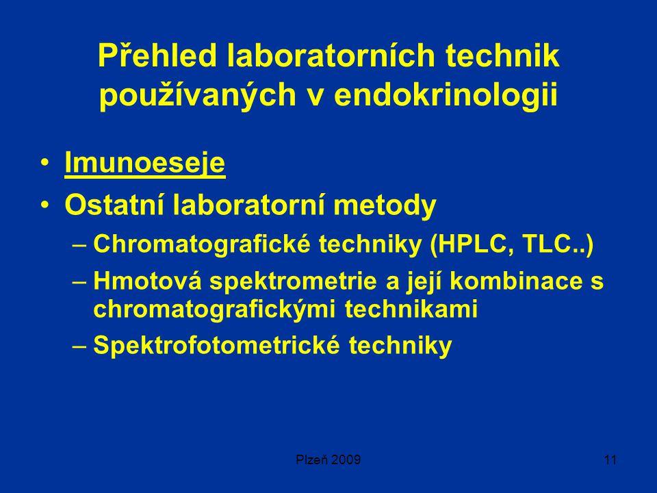 Přehled laboratorních technik používaných v endokrinologii