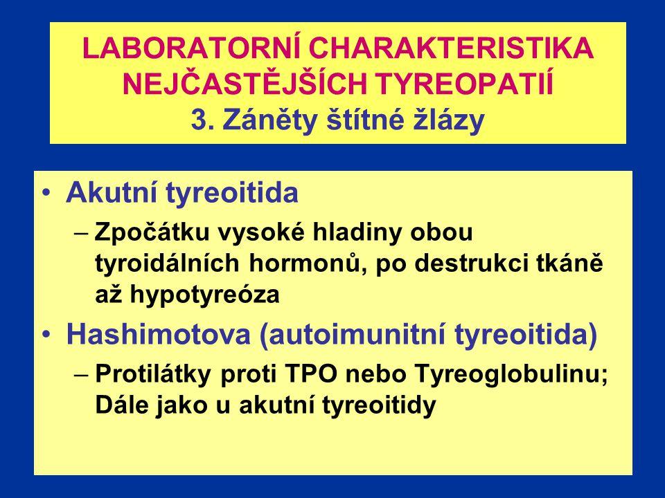 Hashimotova (autoimunitní tyreoitida)