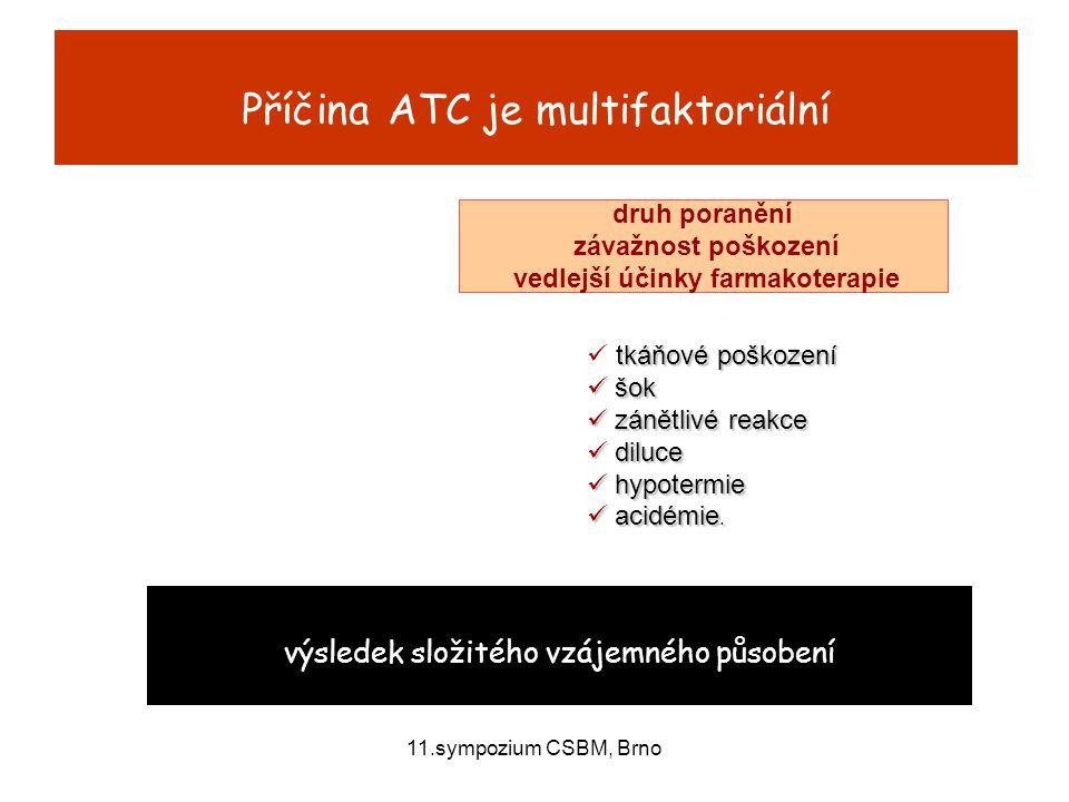 Příčina ATC je multifaktoriální